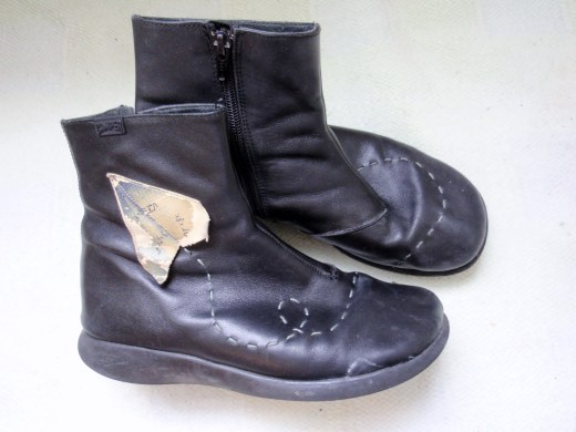Camper Twins Paper Areoplane Boots