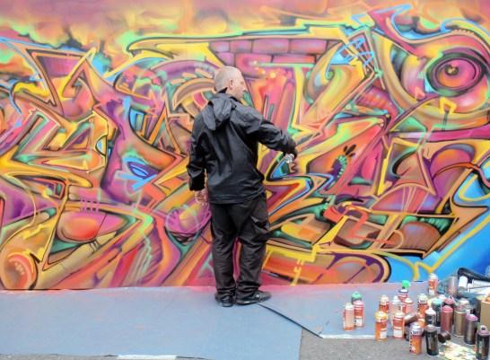 Work in progress Urban Art 2015