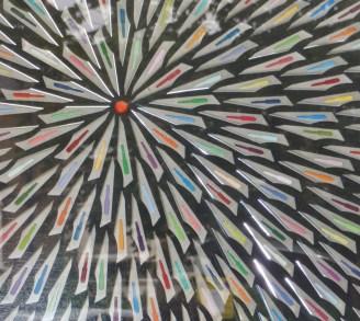 Lene Bladbjerg work with blades