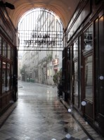 Caught in the rain - Passage du Grand Cerf