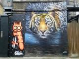 Discreet and JXC Camden street art