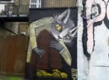 Goms street art Camden