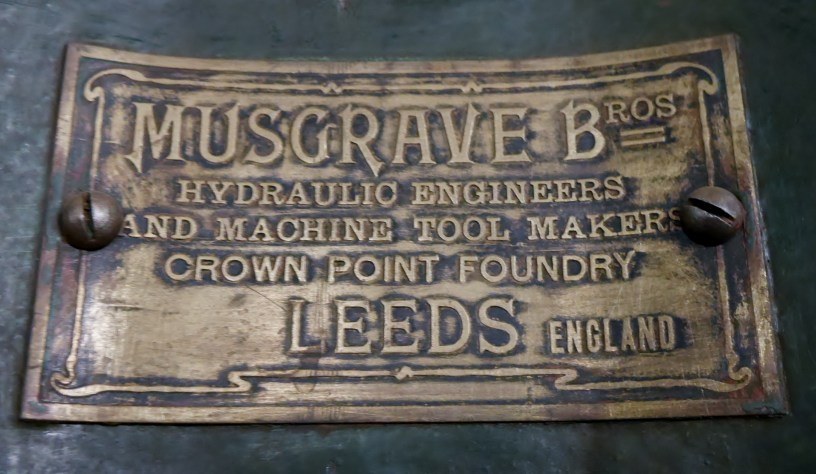 Musgrave Bros sign