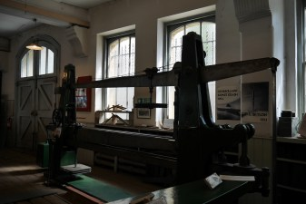 Part of the Kirkaldy Machine in its purpose built space.