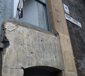 Andre Perrot Exporter Ghost Sign Borough Market