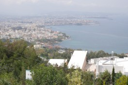 View from the hill at the Venizelos Graves