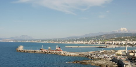 The Harbour from the Fortress Rethymnon