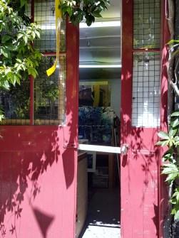 Peeping into David Cowley's studio Iliffe Yard