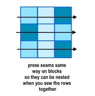 nine patch block 4