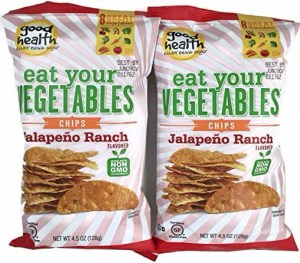 Good Health - Eat Your Vegetables Chips, 2pk - Jalapeno Ranch