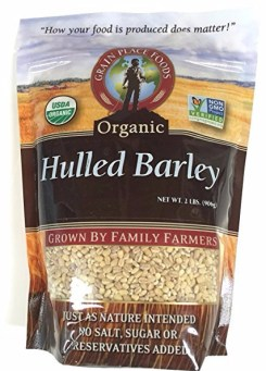 Grain Place Foods - Non-GMO Organic Hulled Barley