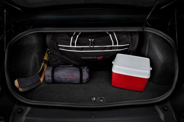 2015 Dodge Challenger trunk