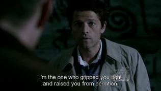 """""""Tôi là người đã giữ chặt và đưa cậu thoát khỏi chốn địa ngục đày ải."""" - Câu nói siêu nổi tiếng của cặp này đây =))))"""