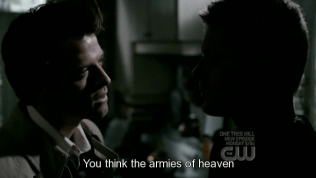 """""""Cậu nghĩ quân đội của thiên đường..."""