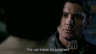 """""""Việc này có thể ảnh hưởng đến sự xét đoán của tôi."""""""