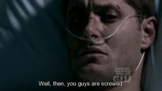 """""""Vậy thì các người tiêu chắc rồi."""" - Dean đáp."""