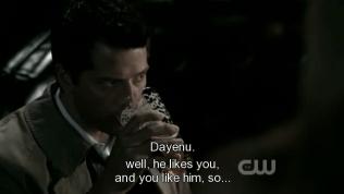 """Dean kết luận, """"Anh ta thích em và em thích anh ta, vậy nên... dzậy là đủ xài rồi!"""""""