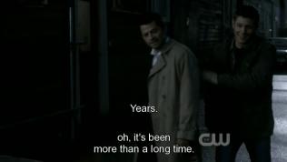 Thích cái cách mà Dean vui Cas cũng vui lây ~ Cute chết được ấy~