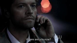 """""""Cậu đang ở đâu?"""" - Cas hỏi."""