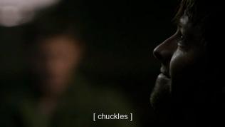 Cas nghe thế thì cười. Dean TL nhìn Cas vẻ khó chịu.