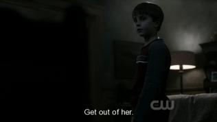 Sau đó, Sam quyết định đem toàn bộ sự thật nói cho Jesse để bé tự quyết định sẽ về phe nào. Và bé đã từ chối theo về phe của quỷ. *Ôm mặt, thằng bé ấy cool nhắm~*