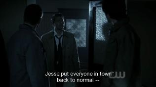 Sau đó, Jesse đã biến tất cả mọi thứ về như cũ rồi biến mất.