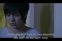 Đoạn này nghe mẹ của Pie nói, nhìn thấy Kim đứng ngoài khóc mà đau hết cả lòng.