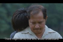 Và Kim thì cũng có một người cha để an ủi cô.