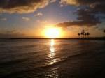 Sunset On Oahu