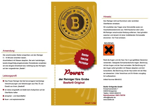 Beefer Power Cleaner