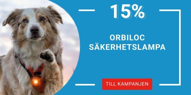 15% på Orbiloc Säkerhetslampa