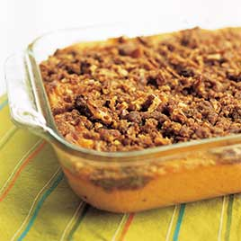 sweet potato casserole recipe with pecans