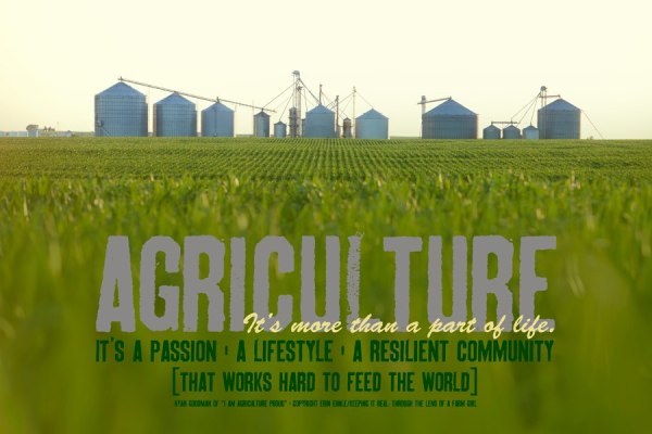 Why Are You Agriculture Proud? National Agriculture Day 2017
