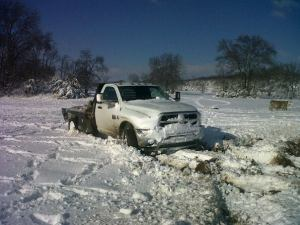 If we're not careful, winter storms can make a big mess for farmers trying to work in all types of weather,