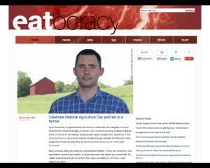 CNN Eatocracy Agriculture Day 2013 Farmers