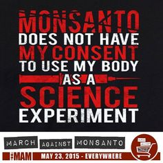 GMO Activists March Against Monsanto – Farmers' Perspective