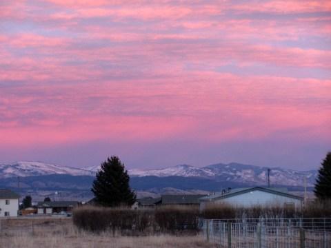 Montana Sunset Helena