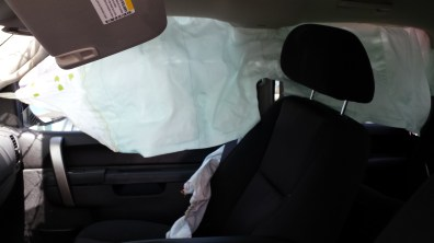 Thank goodness for side curtain airbags