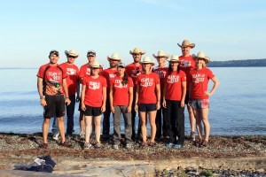 2015 Montana Running Ranchers team at the Ragnar Relay Northwest Passage.