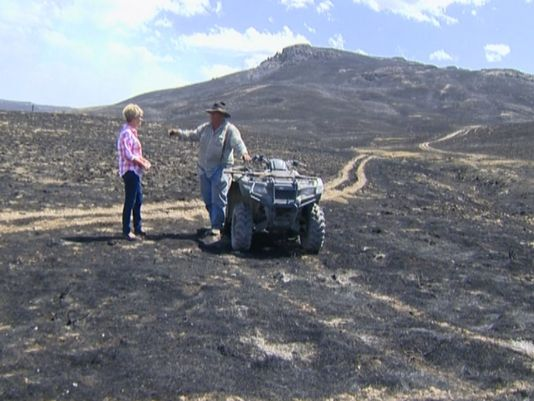 Wildfires Devastating Western States Ranchers