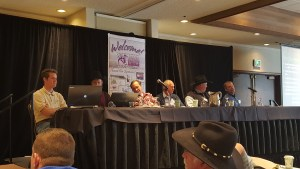 Panelists at the 2016 Montana Winter Grazing Seminar