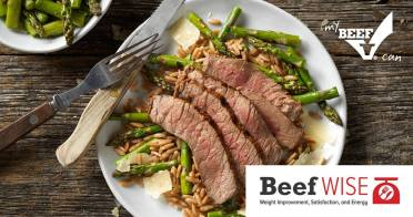 Beef's Role in Weight Improvement, Satisfaction, and Energy for a Healthy Diet