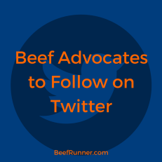 Beef Advocates to follow on twitter