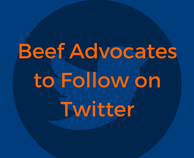 32 Beef Advocates to Follow on Twitter