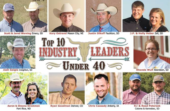 cattle indsutry leaders top 10 under 40