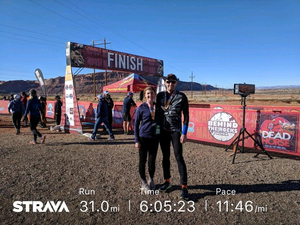 Arches Ultra 50k Moab Utah running