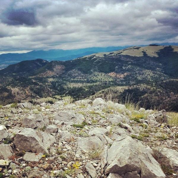 Running Mount Helena—19 days until Yellowstone