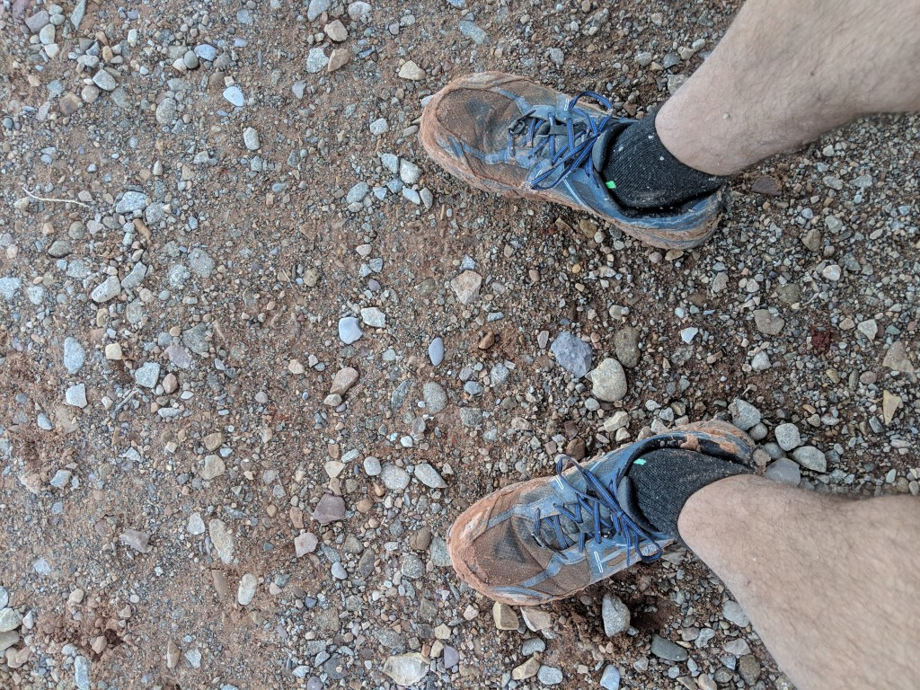 arches ultra moab muddy shoes