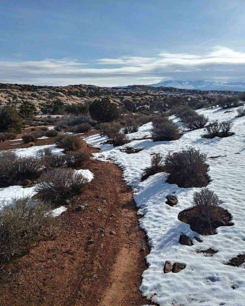 arches ultra moab snow course