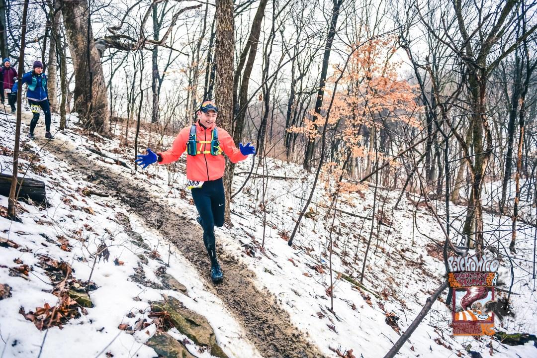 Psycho Wyco 50k trail run kansas city